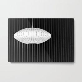 Geometric Glow Metal Print