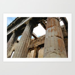 Ancient World Art Print