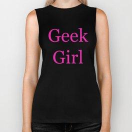 Geek Girl Biker Tank