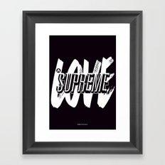 A Love Supreme Framed Art Print