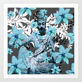CHINA ANTIQUITIES YESTERDAY AND TODAY Art Print