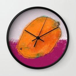 MMM MANGO Wall Clock