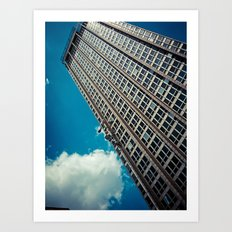Upwards Art Print
