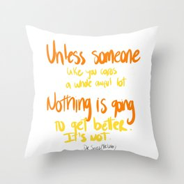 Dr. Seuss Throw Pillow