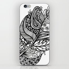 feathering iPhone Skin