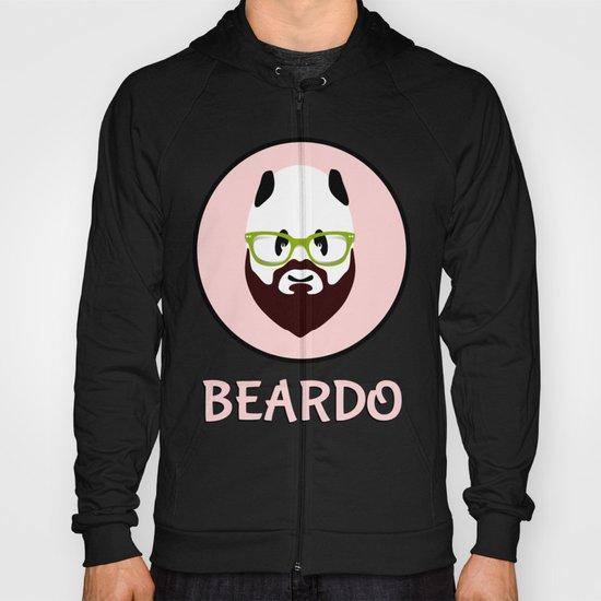 Beardo Panda with a Beard Hoody