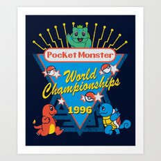 World Championship Art Print