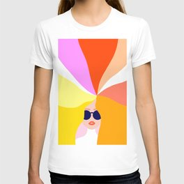 Girl Power - Rainbow Hair #girlpower T-shirt