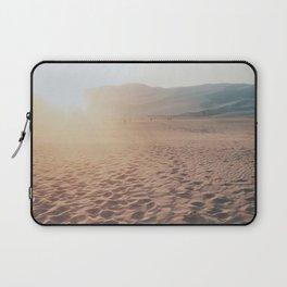 Footprints In The Desert Laptop Sleeve