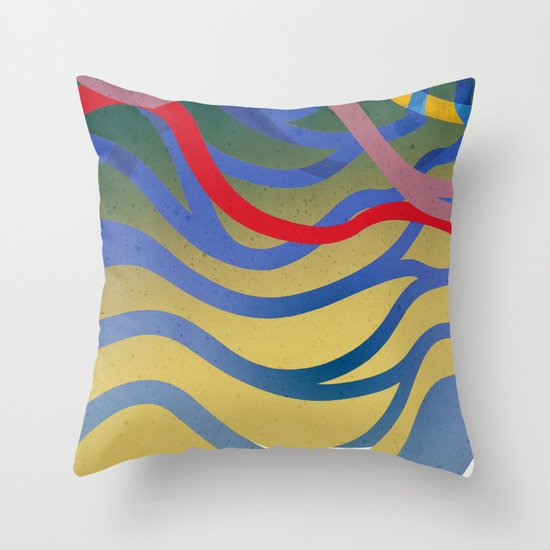 Wasser Throw Pillow