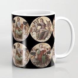 """Raffaello Sanzio da Urbino """"Ceiling of the Stanza della Segnatura"""", 1508-1511 Coffee Mug"""