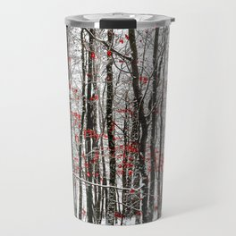 winter forest Travel Mug