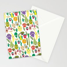 Fruit And Veggie Madness Stationery Cards