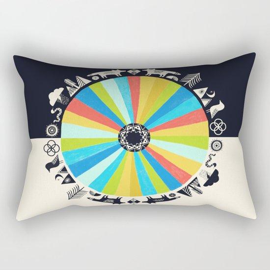Wolf Talk Rectangular Pillow
