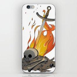 A Distinguished Fire iPhone Skin