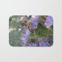 Bees on Buddleia Bath Mat