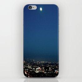 l.a. blur iPhone Skin