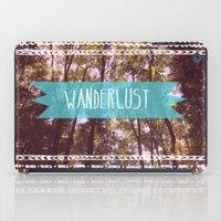 wanderlust iPad Cases featuring Wanderlust by AA Morgenstern