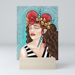Sea Goddess 4 Mini Art Print