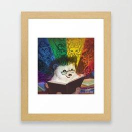 A Spectrum of Stories Framed Art Print