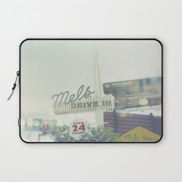 Diner Sunset Blvd Los Angeles California Laptop Sleeve