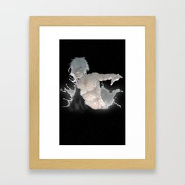 Evolved from the Deep Water Framed Art Print