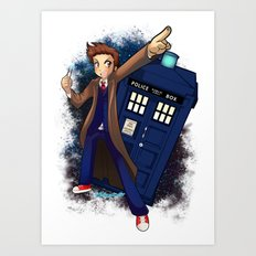 Doctor Who Art Print