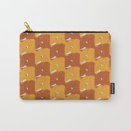Happy Sunny Elephants Carry-All Pouch