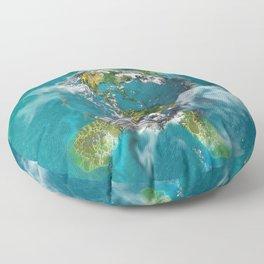 Earth Turtle Floor Pillow