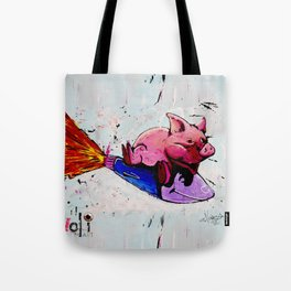 Misadventures of War and Greed Tote Bag