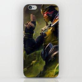 Yellow Jacket Shen Splash Art Wallpaper Background Official Art Artwork League of Legends lol iPhone Skin