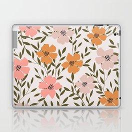 70s Floral Theme Laptop & iPad Skin
