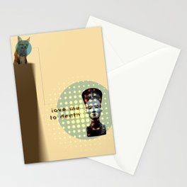 Love Me To Death Stationery Cards