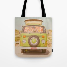 let's ride through europe Tote Bag