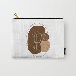 Greca Blanca Carry-All Pouch