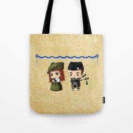 Scottish Chibis Tote Bag