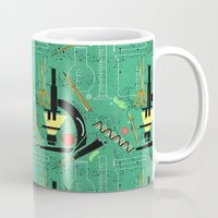 biology Mugs featuring BIOLOGY by cecimonster