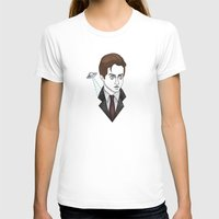 mulder T-shirts featuring spooky mulder by Bunny Miele