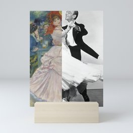 Renoir's Dance at Bougival & Fred Astaire (with Ginger Rogers) Mini Art Print