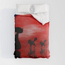 mooncats -3- Comforters