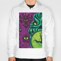 """haunted mansion Hoodies featuring Disneyland Haunted Mansion inspired """"Wall-To-Wall Creeps No.3""""  by ArtisticAtrocities"""