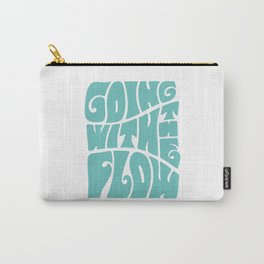 Going with the flow Carry-All Pouch