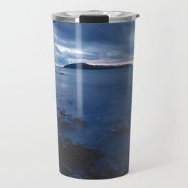 Blue Sunset on the Water, New Zealand Travel Mug