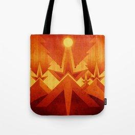 Mars - Cryptic Geysers Tote Bag