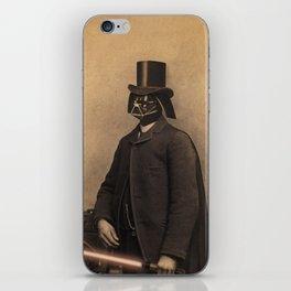 Lord Vadersworth iPhone Skin
