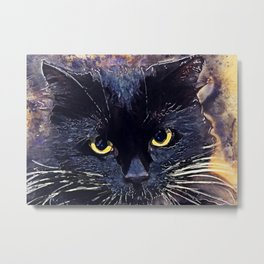 Cat Lucy Metal Print
