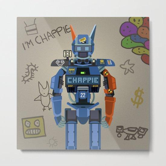 Chappie vector fanart Metal Print