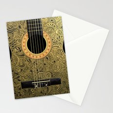 Black Gold Stationery Cards