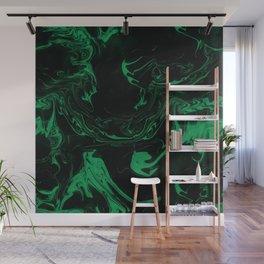 Adrift - Abstract Suminagashi Marble Series - 06 Wall Mural