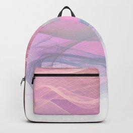 Flow Motion Vibes 1. Pink, Violet and Grey Backpack